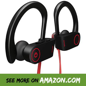 4bb40eba54b Bluetooth Headphones, Otium Best Wireless Sports Earphones w/Mic IPX7  Waterproof HD Stereo Sweatproof in Ear Earbuds for Gym Running Workout