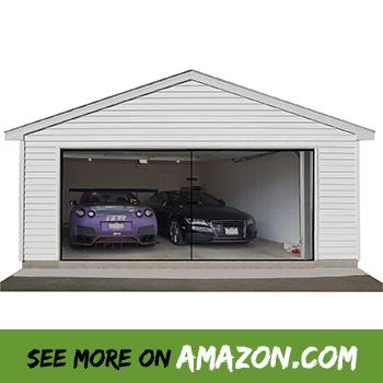 Review The Best Retractable Garage Door Screen 2019